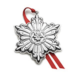 2018 Towle Old Master Snowflake Sterling Silver Christmas Ornament