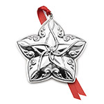Towle Ornament 2018 Annual Star Sterling Silver Christmas Decoration