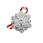 2019 Towle Old Master Snowflake Sterling Silver Christmas Ornament
