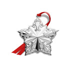 2019 Towle Annual Star Sterling Silver Christmas Ornament