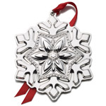 2016 Tuttle Snowflake Sterling Silver Christmas Ornament