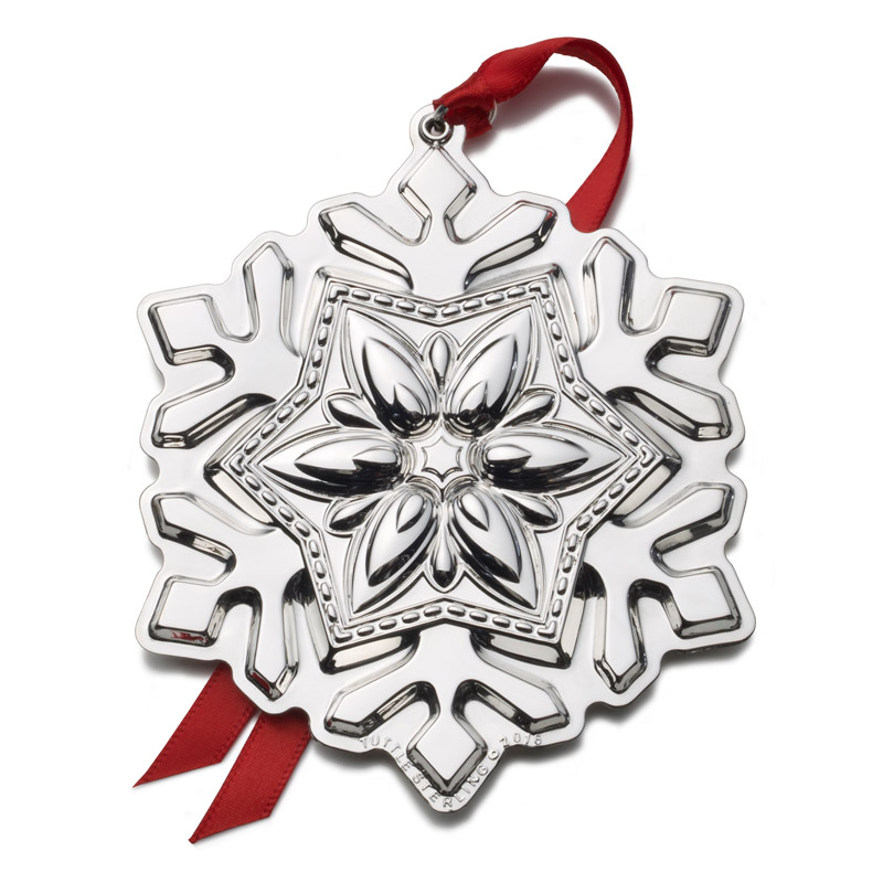 Snowflake Christmas Tree Decoration | Tuttle Ornaments | 2016 Snowflake