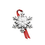 2018 Tuttle Snowflake Sterling Silver Christmas Ornament