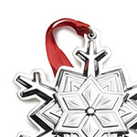 Snowflake Christmas Tree Decoration | Tuttle Ornaments | 2018 Snowflake
