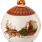 Villeroy and Boch Ball 2018 Ornament | Villeroy and Boch Christmas Ornament | Porcelain Ball