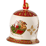 Villeroy and Boch Bell 2018 Ornament | Villeroy and Boch Christmas Ornament | Porcelain Bell