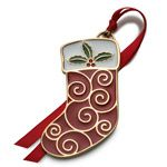 2014 Wallace Wonders of Christmas Goldplate Christmas Ornament