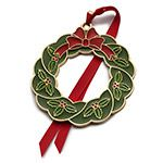 2015 Wallace Wonders of Christmas Goldplate and Enameled Christmas Tree Decoration