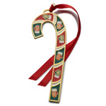 2016 Wallace Candy Cane Christmas Ornament