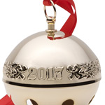 Wallace Christmas Sleigh Bell, Goldplate