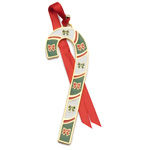 2018 Wallace Candy Cane Christmas Ornament