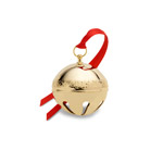2019 Wallace Goldplate Sleigh Bell Christmas Ornament