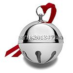 2013 Wallace Sleigh Bell Silverplate Christmas Ornament