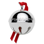 2016 Wallace Sleigh Bell Silverplate Christmas Ornament