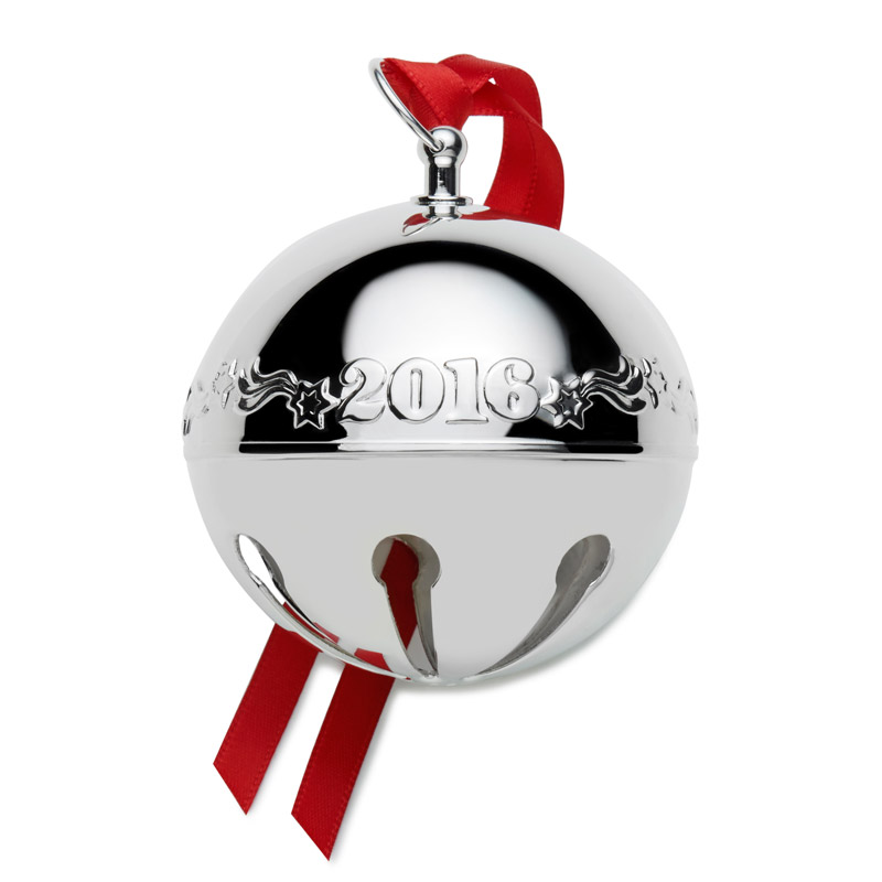 Wallace sleigh bell christmas ornament