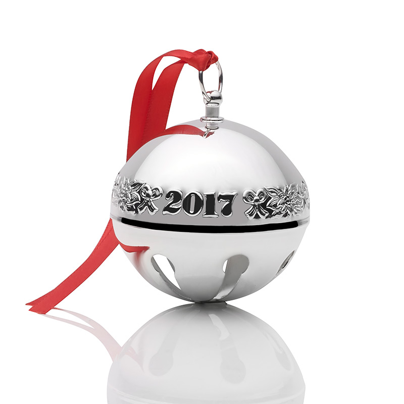 Silver Bells Christmas Decorations Inspiration 2017 Wallace Sleigh Bell  2017 Christmas Ornament  Christmas Bells Decorating Design