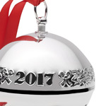Wallace Sleigh Bell 2017 Christmas Tree Decoration | Wallace Christmas Ornaments | 2017 Sleigh Bell