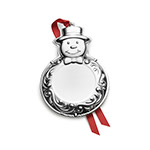 2018 Wallace Silver Plated Engravable Decoration