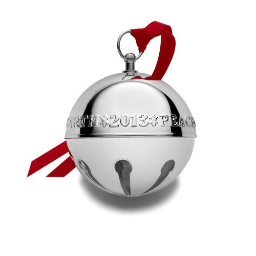 Wallace sterling silver sleigh bell ornament can be