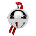 Wallace Christmas Sleigh Bell, Silverplate