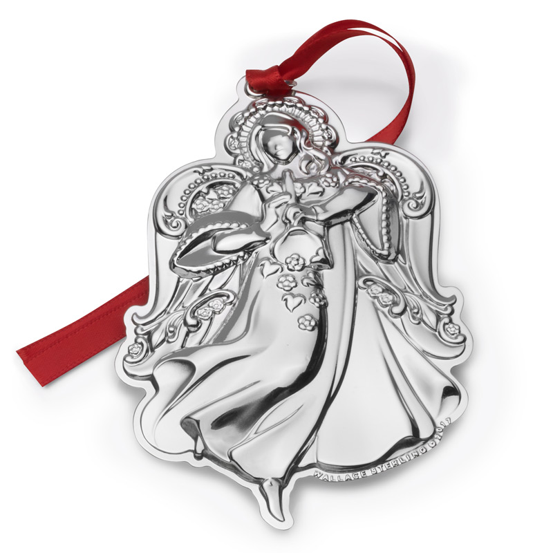 grande baroque angel christmas tree decoration wallace ornaments 2017 grande baroque angel