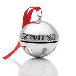 2017 Wallace Sterling Silver Sleigh Bell Christmas Ornament