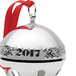Sterling Sleigh Bell Christmas Tree Decoration | Wallace Ornaments | Christmas Silver Bell