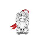 2019 Wallace Grande Baroque Angel Sterling Silver Christmas tree decoration