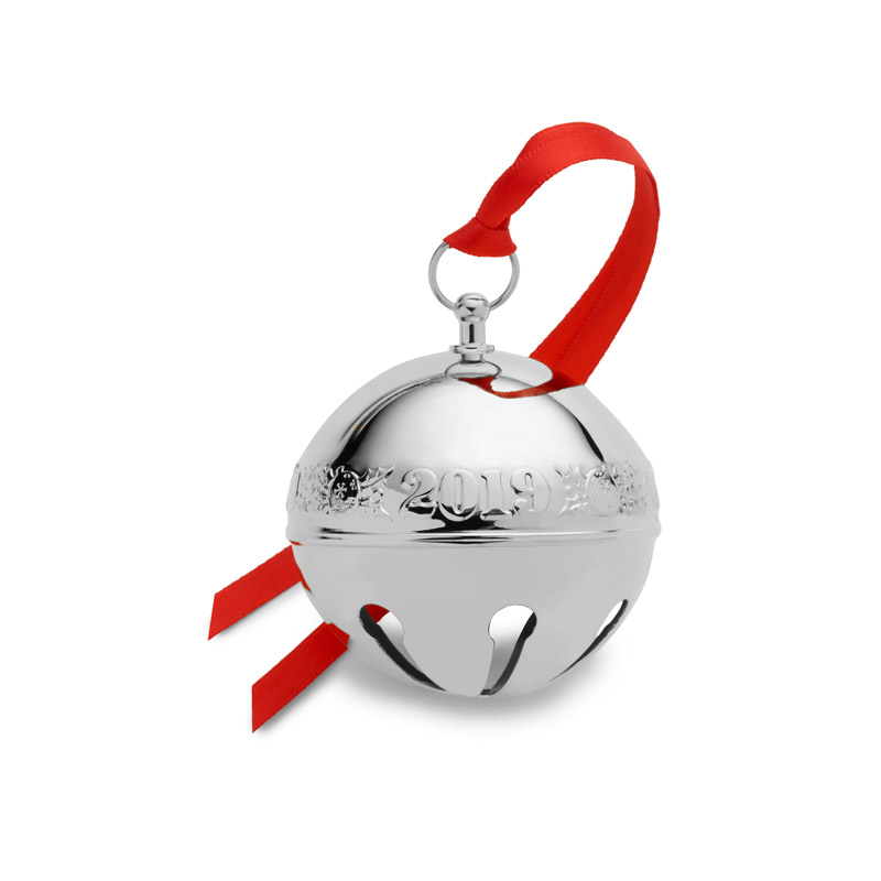 Christmas Bell.2019 Wallace Sterling Sleigh Bellsterling Silver Christmas Ornament By Wallace