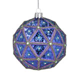 2017 Waterford Times Square Replica Ball Gift of Kindness Crystal Christmas Ornament