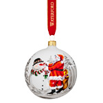 Waterford Holiday Heirloom Nostalgic Magic of Christmas Ball Ornament