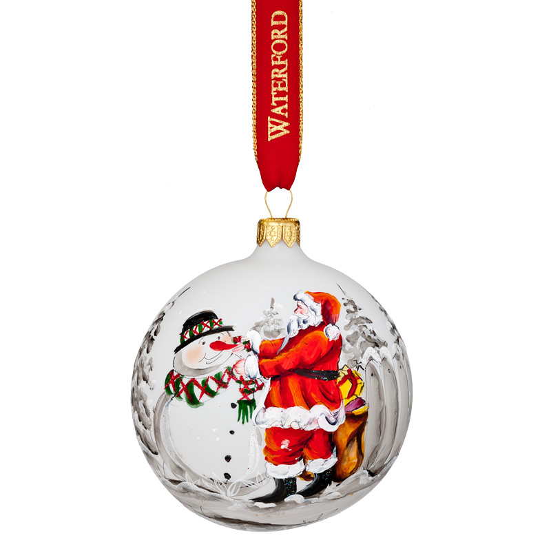 Nostalgic Magic Of Christmas Ball Waterford Christmas Tree Decoration Teddy Bear Ornament