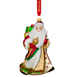 Waterford Holiday Heirloom Nostalgic Miraculous Santa Ornament