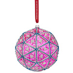 2018 Timesquare Masterpiece Ball Crystal Christmas Ornament