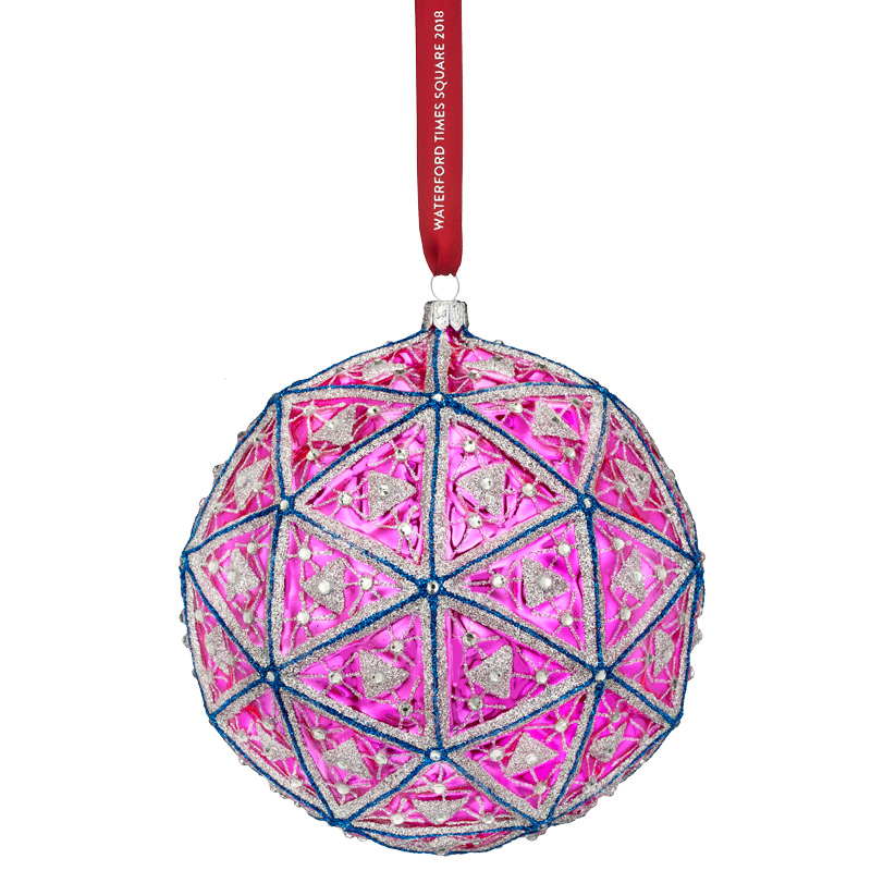 2018 Times Square Masterpiece Ball, New Year's | Waterford Christmas Tree Decoration | Times Square Masterpiece Ball Ornament