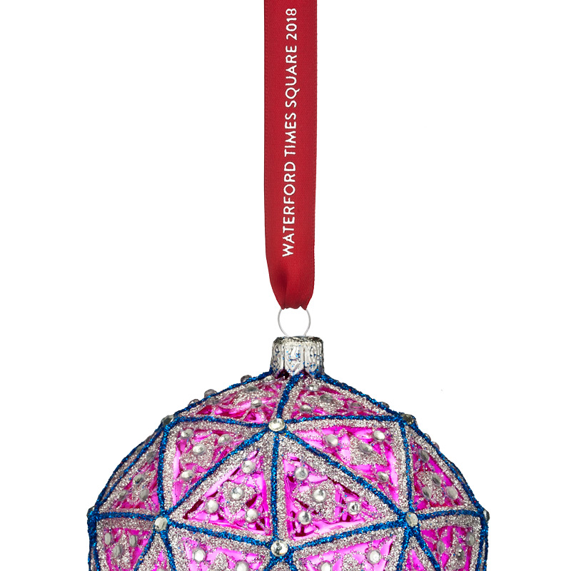 Waterford crystal times square replica ball ornament 2018 List of christmas ornaments