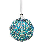 2019 Waterford Times Square Masterpiece Ball Gift of Serenity Crystal Christmas Ornament