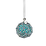 2019 Waterford Times Square Replica Ball Gift of Serenity Crystal Christmas Ornament