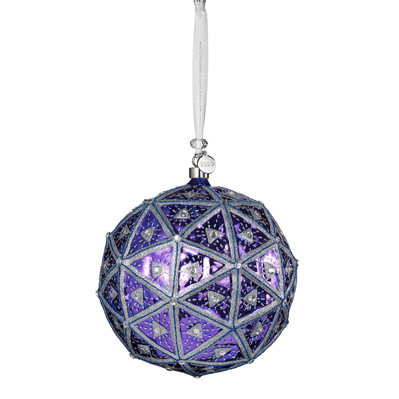 2019 Times Square Masterpiece Ball, New Year's | Waterford Christmas Tree Decoration | Times Square Masterpiece Ball Ornament