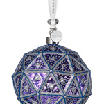 2019 Times Square Replica Ball, New Year's | Waterford Crystal Christmas Tree Decoration | Times Square Replica Ball Ornament
