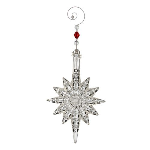 2013 Waterford Snowstar Crystal Christmas Ornament ...
