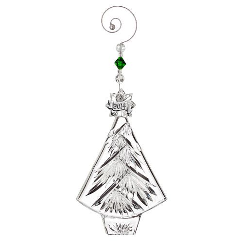 Christmas Tree For 2014: 2014 Waterford Annual Christmas Tree Crystal Ornament