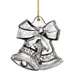 2016 Waterford Our First Crystal Christmas Ornament, Wedding Bells