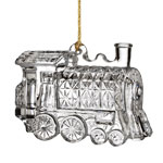 2016 Waterford Marquis Train Bell Christmas Ornament, Train Engine