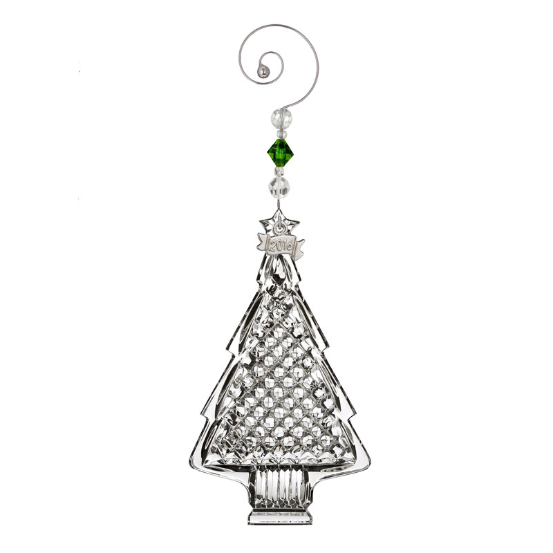 Waterford crystal christmas tree ornament
