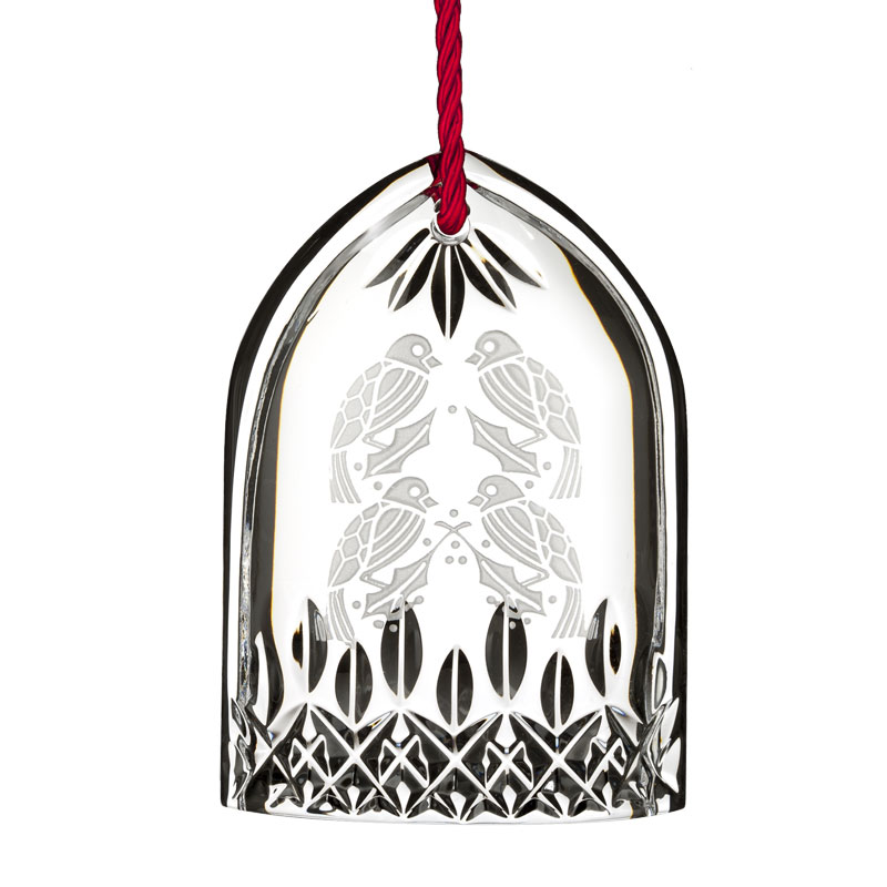 Lismore Four Calling Birds | Waterford Crystal Christmas Tree Decoration | 12 Days of Christmas