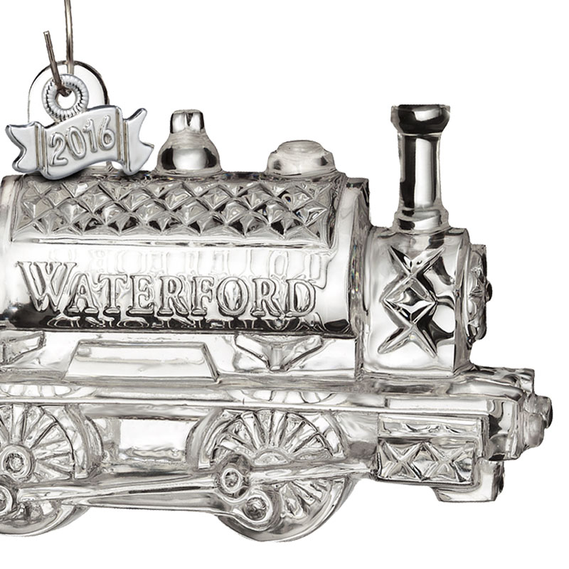 Waterford Crystal Train Engine Ornament 2016 | Silver ...