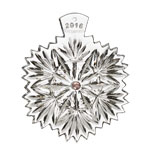 2016 Waterford Snowflake Wishes Crystal Ornament