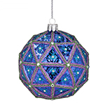 2017 Timesquare Masterpiece Ball Crystal Christmas Ornament
