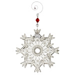 2017 Waterford Snow Crystal Pierced Snowflake Christmas Ornament, Snowflake decoration